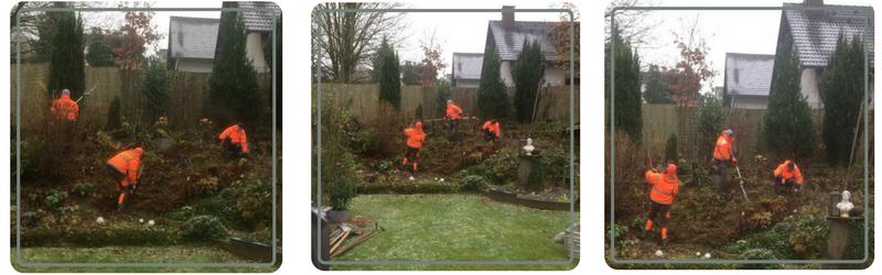 Im Gartenbau sind gründliche Erdarbeiten die Grundlage.